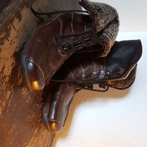 Gorgeous new fur lined Rieker boots 41